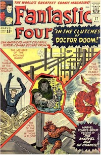 Fantastic Four 17 - for sale - mycomicshop