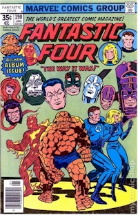 Fantastic Four 190 - for sale - mycomicshop