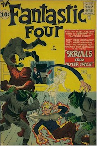 Fantastic Four 2 - for sale - mycomicshop