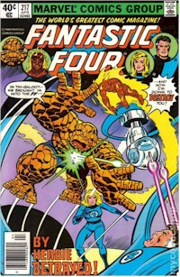 Fantastic Four 217 - for sale - mycomicshop