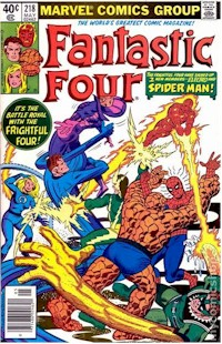 Fantastic Four 218 - for sale - mycomicshop