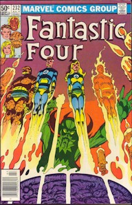 Fantastic Four 232 - for sale - mycomicshop