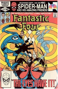 Fantastic Four 237 - for sale - mycomicshop
