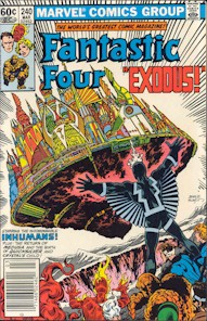 Fantastic Four 240 - for sale - mycomicshop
