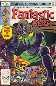 Fantastic Four 247 - for sale - mycomicshop