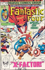 Fantastic Four 250 - for sale - mycomicshop
