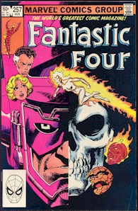 Fantastic Four 257 - for sale - mycomicshop