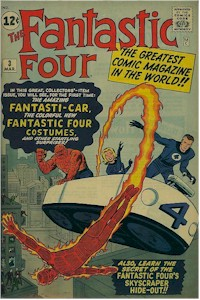 Fantastic Four 3 - for sale - mycomicshop
