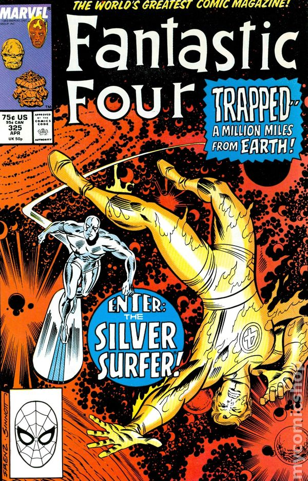 Fantastic Four 325 - for sale - mycomicshop
