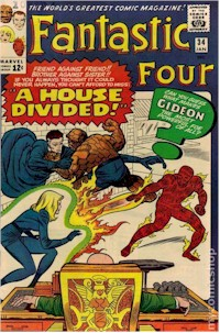 Fantastic Four 34 - for sale - mycomicshop