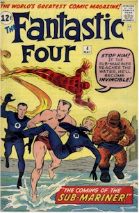 Fantastic Four 4 - for sale - mycomicshop