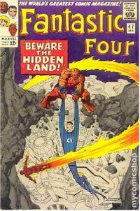 Fantastic Four 47 - for sale - mycomicshop