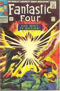 Fantastic Four 53 - for sale - mycomicshop