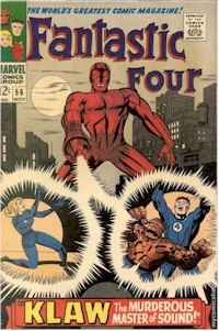 Fantastic Four 56 - for sale - mycomicshop