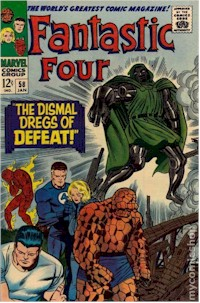 Fantastic Four 58 - for sale - mycomicshop