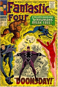 Fantastic Four 59 - for sale - mycomicshop