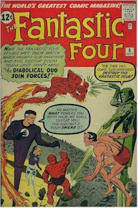 Fantastic Four 6 - for sale - mycomicshop