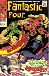 Fantastic Four 63 - for sale - mycomicshop
