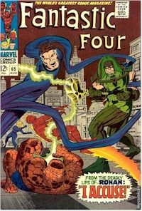 Fantastic Four 65 - for sale - mycomicshop