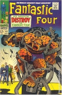 Fantastic Four 68 - for sale - mycomicshop