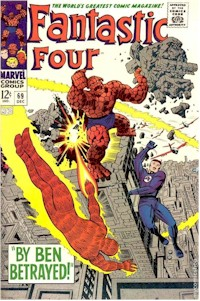 Fantastic Four 69 - for sale - mycomicshop