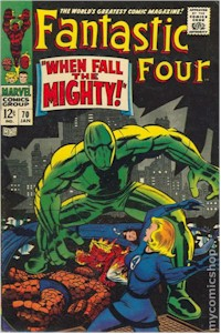 Fantastic Four 70 - for sale - mycomicshop