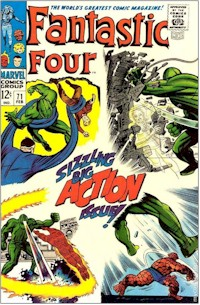 Fantastic Four 71 - for sale - mycomicshop