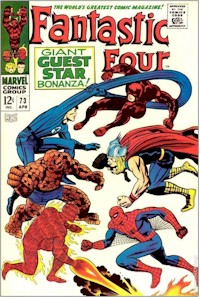 Fantastic Four 73 - for sale - mycomicshop
