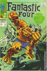 Fantastic Four 79 - for sale - mycomicshop