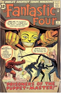 Fantastic Four 8 - for sale - mycomicshop