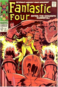 Fantastic Four 81 - for sale - mycomicshop