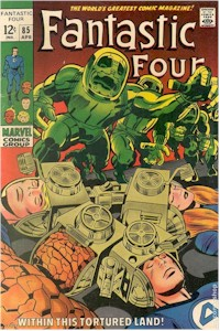 Fantastic Four 85 - for sale - mycomicshop