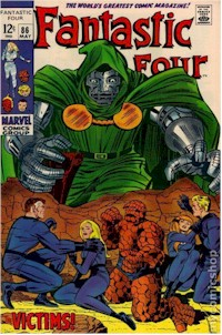Fantastic Four 86 - for sale - mycomicshop