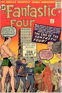 Fantastic Four 9 - for sale - mycomicshop