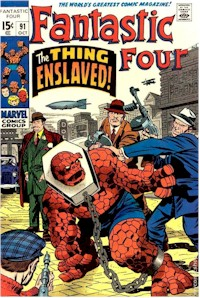 Fantastic Four 91 - for sale - mycomicshop