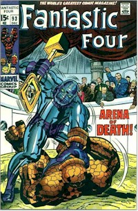 Fantastic Four 93 - for sale - mycomicshop