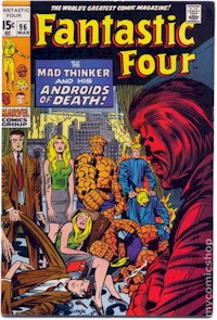Fantastic Four 96 - for sale - mycomicshop