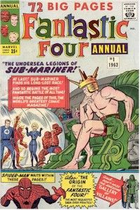 Fantastic Four Annual 1 - for sale - mycomicshop