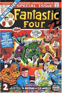 Fantastic Four Annual 10 - for sale - mycomicshop