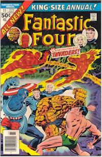 Fantastic Four Annual 11 - for sale - mycomicshop