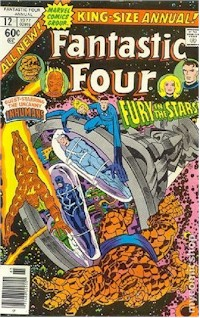 Fantastic Four Annual 12 - for sale - mycomicshop