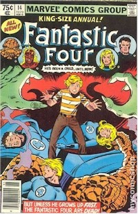Fantastic Four Annual 14 - for sale - mycomicshop