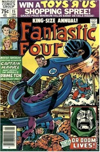 Fantastic Four Annual 15 - for sale - mycomicshop
