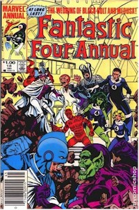 Fantastic Four Annual 18 - for sale - mycomicshop