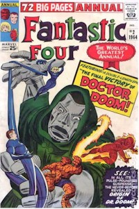 Fantastic Four Annual 2 - for sale - mycomicshop
