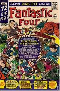 Fantastic Four Annual 3 - for sale - mycomicshop