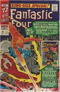 Fantastic Four Annual 4 - for sale - mycomicshop
