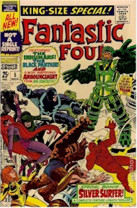 Fantastic Four Annual 5 - for sale - mycomicshop