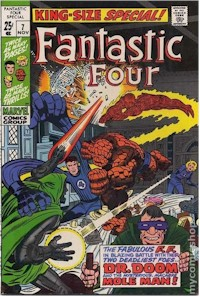 Fantastic Four Annual 7 - for sale - mycomicshop
