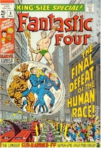 Fantastic Four Annual 8 - for sale - mycomicshop